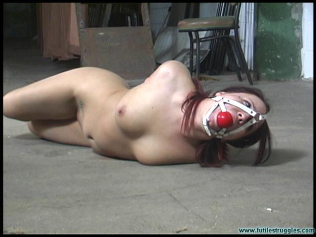 BDSM Brandy HogCuffed Nude - Part 3
