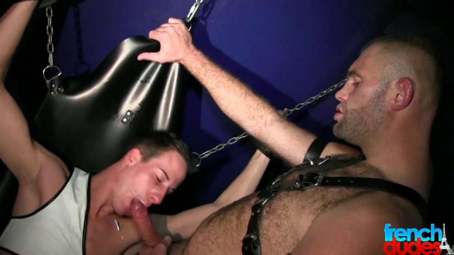 Gay BDSM FDudes - ClemBoy, Magnum & Greg Centuri - Pig Boy Gets Dominated