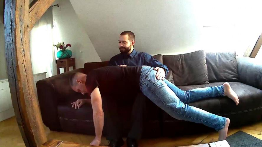 Gay BDSM Teodor deals with Viktor