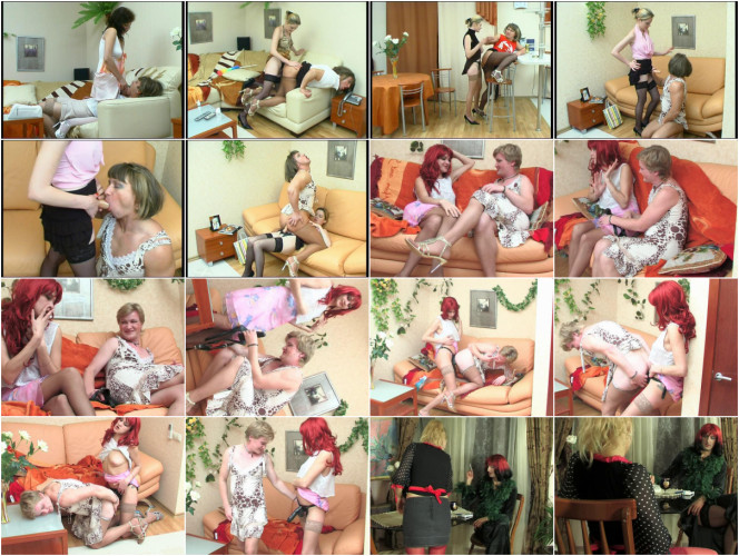 Femdom and Strapon Straponsissies Pack3
