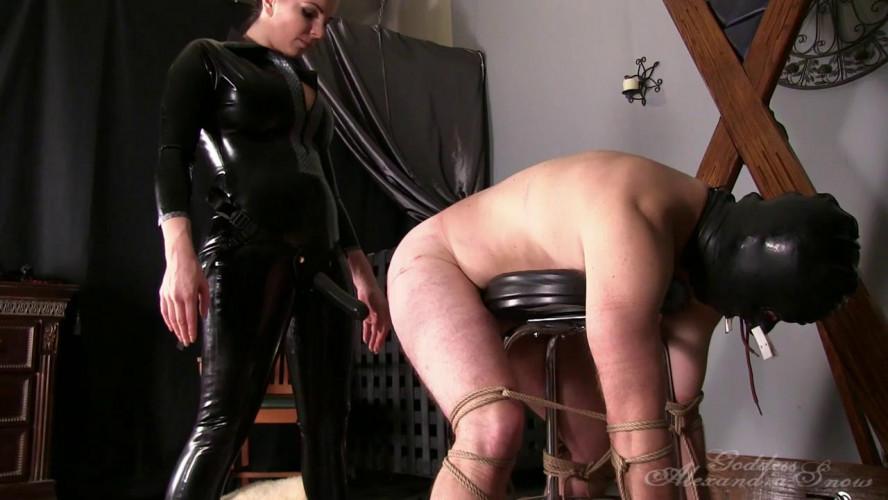 Femdom and Strapon Goddess Alexandra Snow - Strap-On Fuck Toy