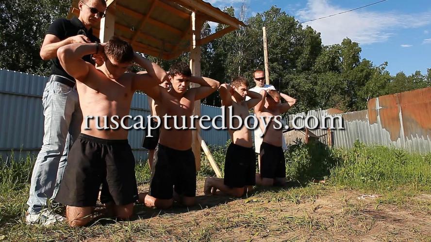 Gay BDSM RusCapturedBoys - Trap for Escaped Captives - Final