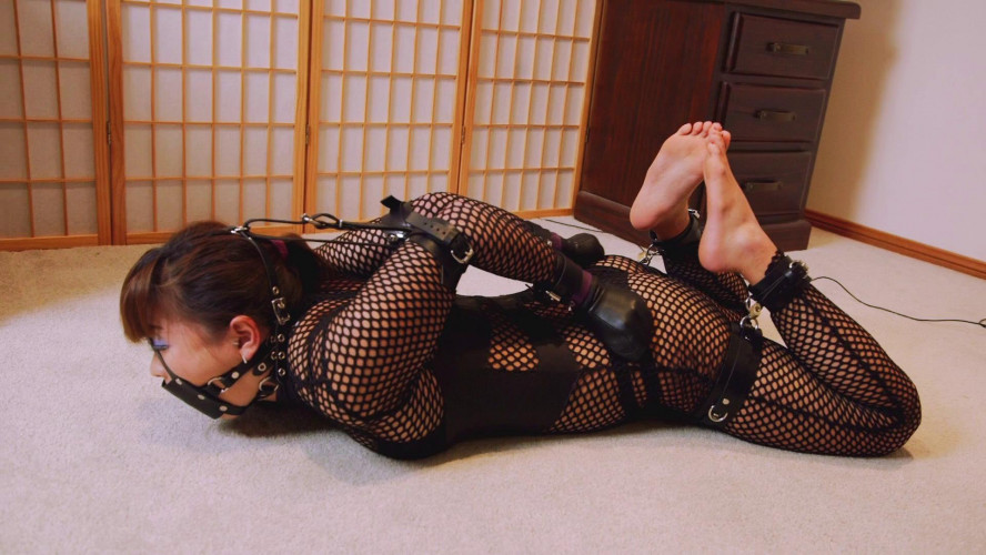 BDSM Mina is Locked in Her New Cuffs Part 2