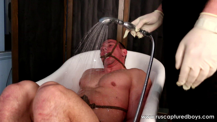 Gay BDSM Submissive slave Yaroslav - Final Part