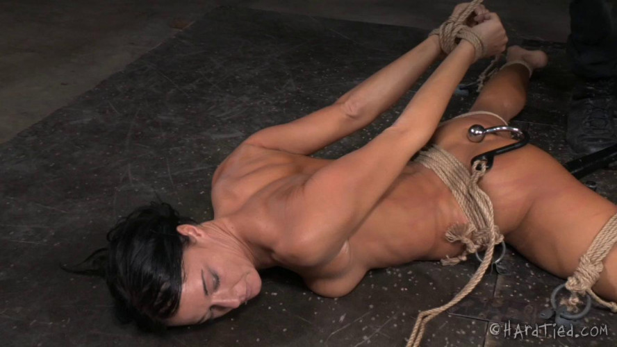 BDSM HardTied  London River Fit To Be Tied