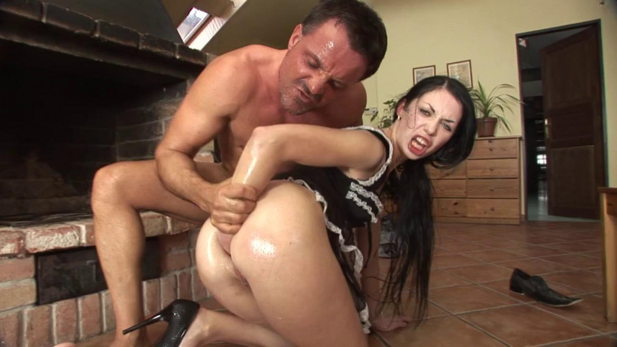 Fisting and Dildo Isabella Clark Double Anal Fisting Scene 1