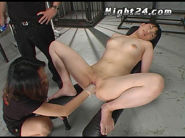 Asians BDSM Night24 - rock-paper-scissors with fist