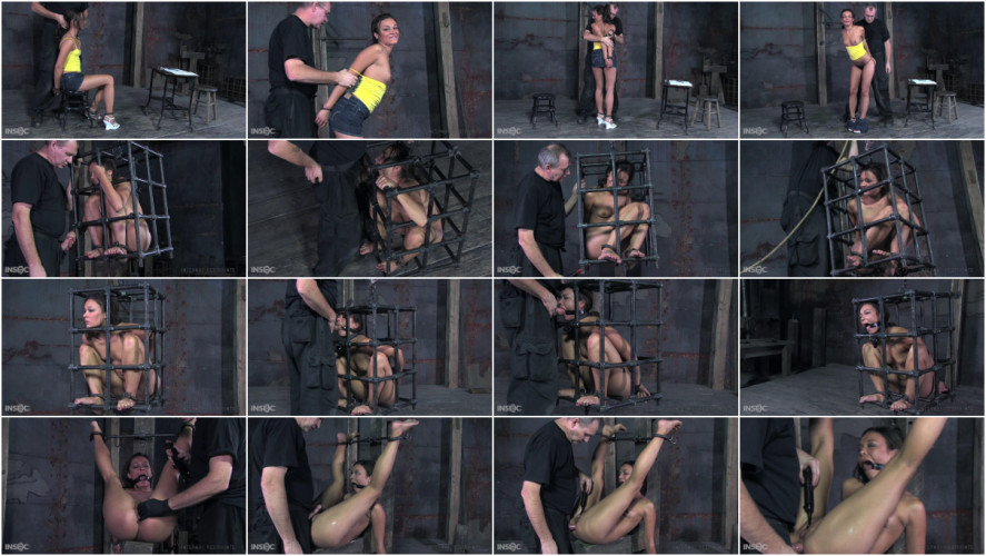 BDSM Petite Crissy Moon Bounded & Dominated