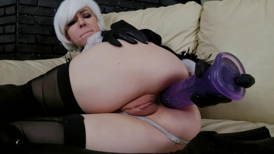 Fisting and Dildo Sexual Huge toys ass fuck prolapse