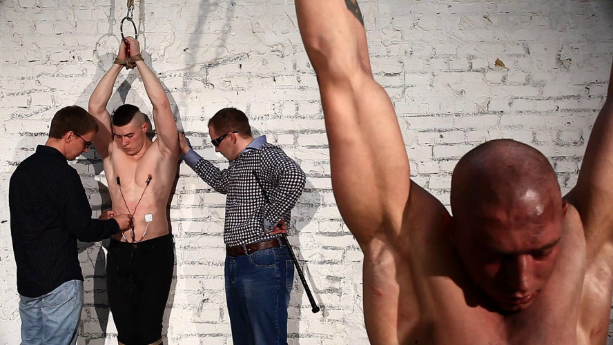 Gay BDSM Cruel Betrayal - Final