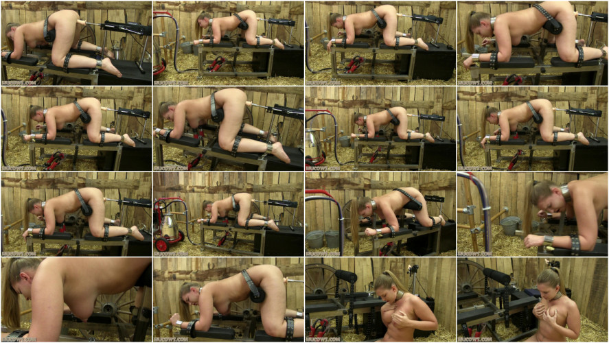 BDSM Ariel – red cow milker and fucking machine