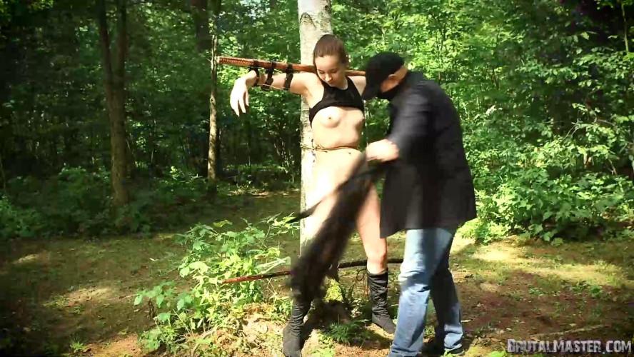 BDSM Wood Nymph Torture from BrutalMaster