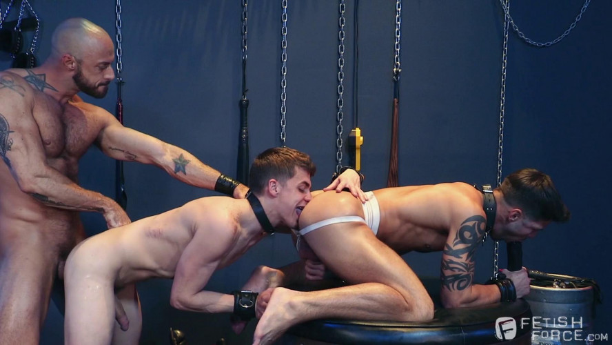 Gay BDSM Used a friend as a whore