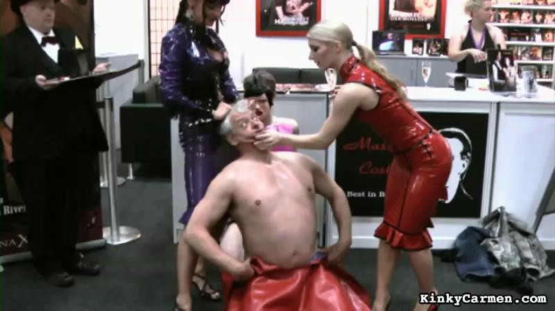 Femdom and Strapon Kinky Carmen Nice Sweet Mega Perfect Vip Collection. Part 2.