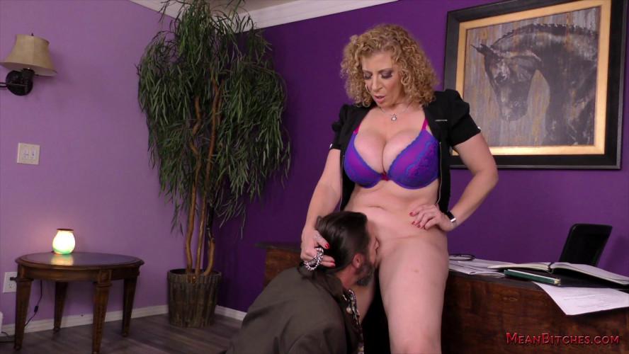 Femdom and Strapon HD Femdom Sex Videos Mean Bitch Boss
