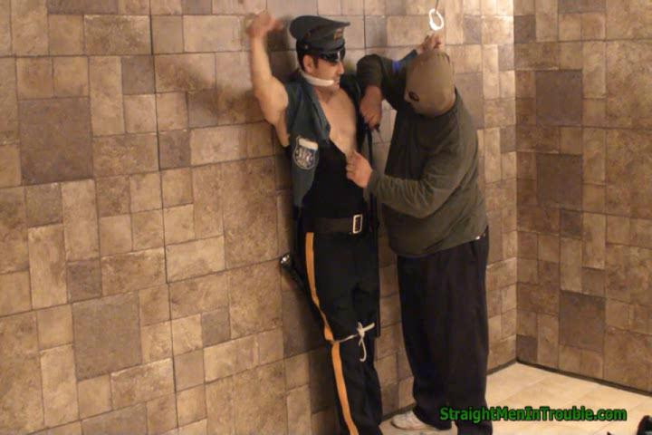 Gay BDSM Officer Franco Ripped & Stripped - Part 1