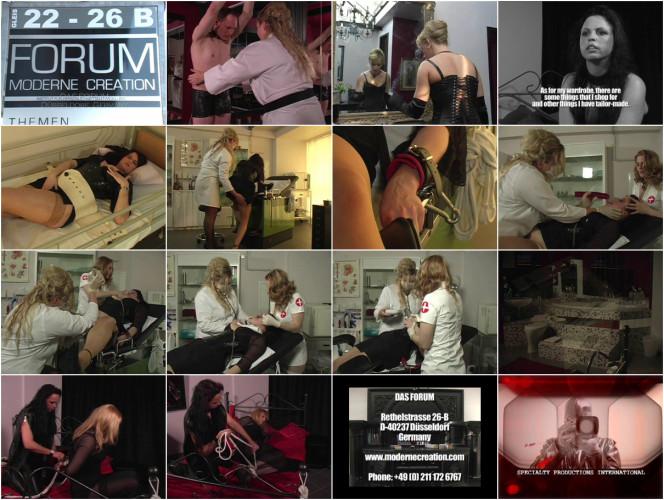 BDSM Latex Latex Rubber - Anikka Popping - Domination HD