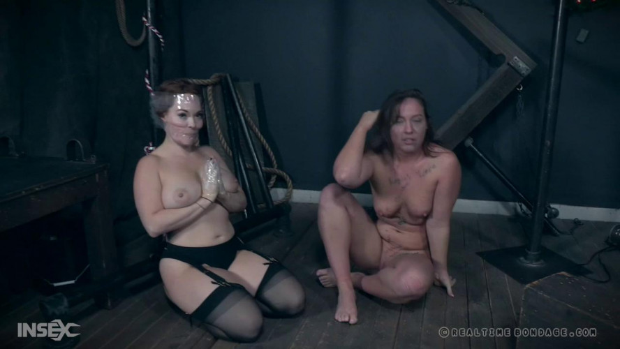 BDSM Maddy and Summer get their Christmas wishes