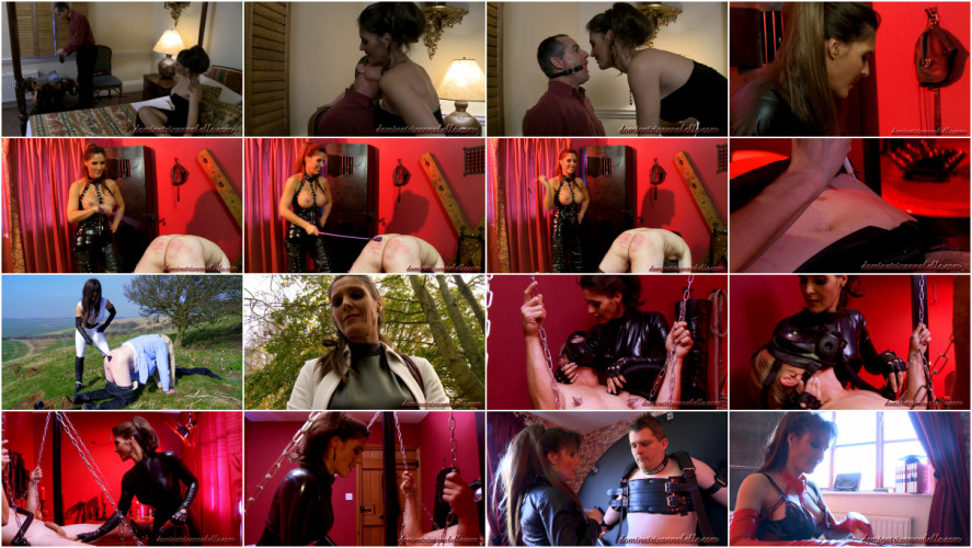 Femdom and Strapon Dominatrix Full Magic Annabelle Perfect Sweet Cool Collection. Part 4.