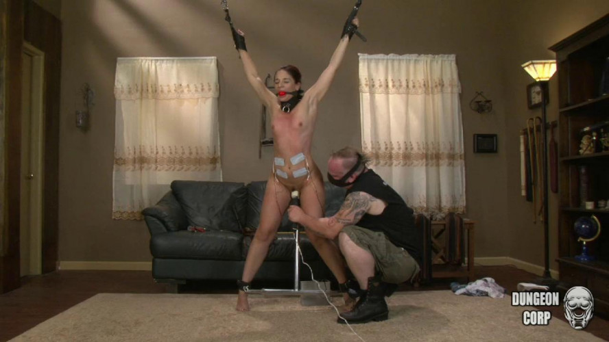 BDSM Strung Up and Spread Wide part 2