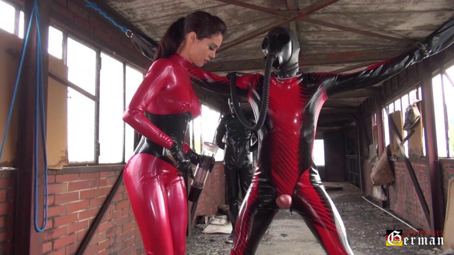 BDSM Latex Your Latex Will Crack At The Seams - Mistress Susi - Part 1