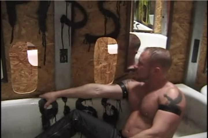 Gay BDSM Pigs At The Troff 2 - More Pigs At The Troff