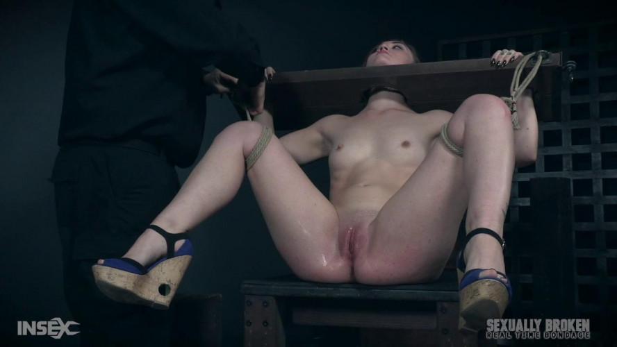 BDSM Serious Cutie Likes Metal Bondage & Tortures