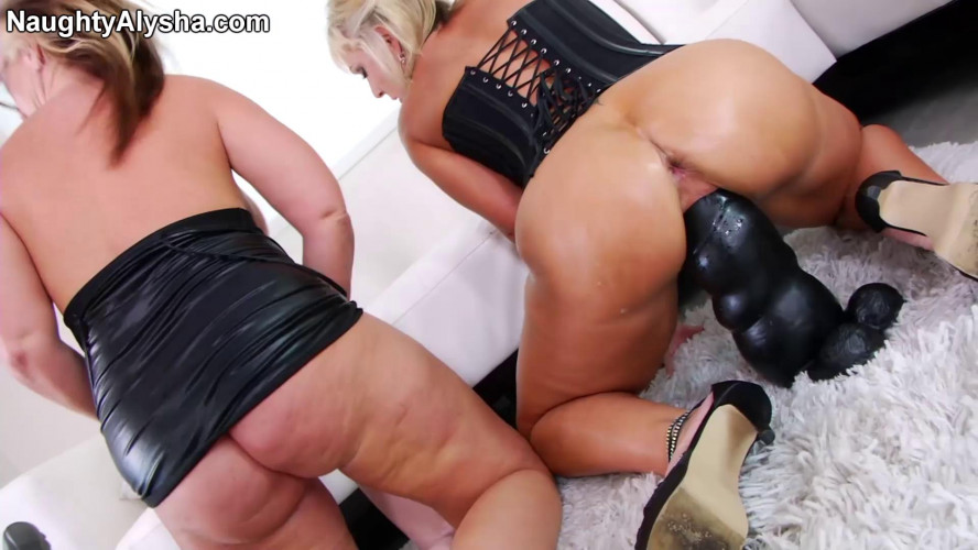 Fisting and Dildo Magnificent 6 Clips Naughty Alusha. Part 1.