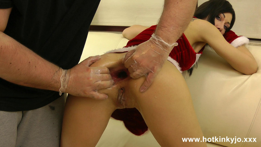 Fisting and Dildo Two men hands in ass - perfect Christmas Gift for a girl