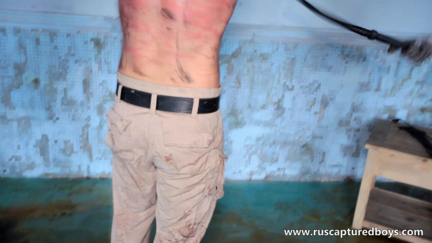 Gay BDSM RusCapturedBoys - Slava - The Prisoner of War - Part I