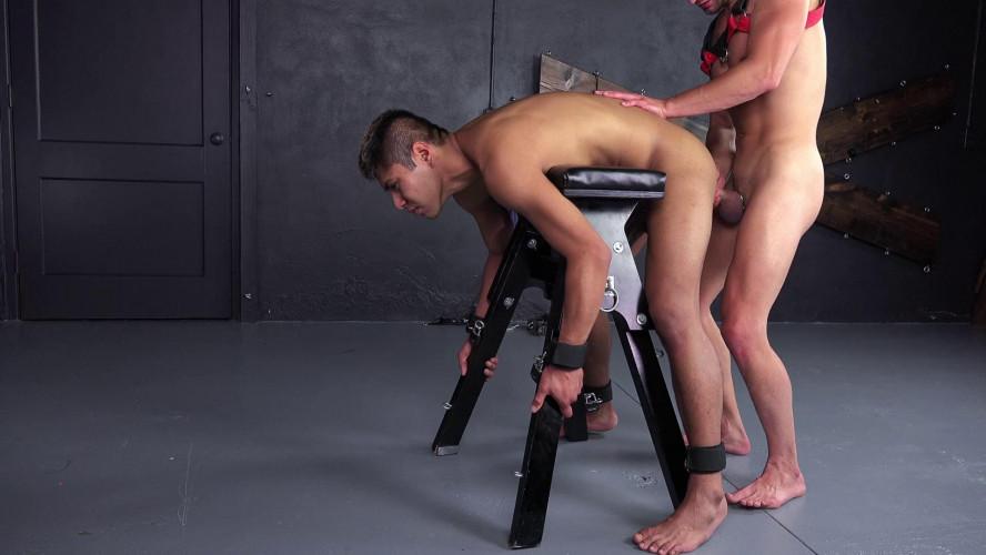 Gay BDSM Taken For Torture