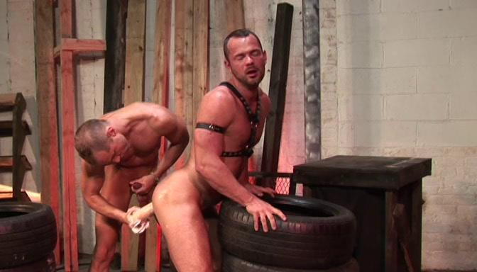 Gay BDSM Shock Wave