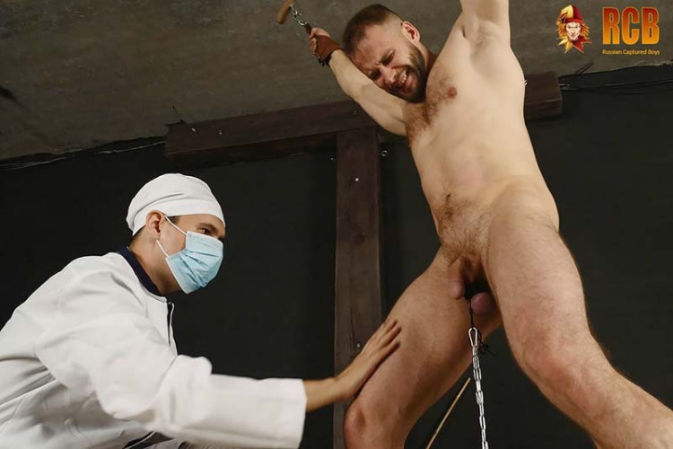 Gay BDSM RCapturedBoys - Commando Stas and the Doctor. Final Part