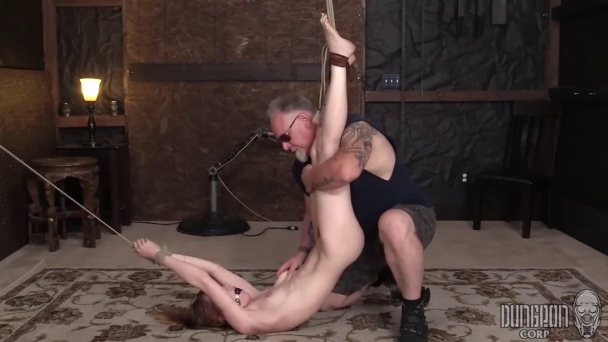 BDSM Super bondage, spanking and torture for beautiful bitch Full HD 1080p