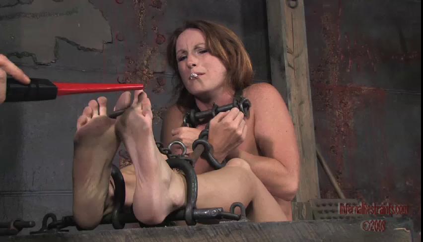 BDSM Infernal Restraints Vip Beautifull New Gold Sweet Collection. Part 4.