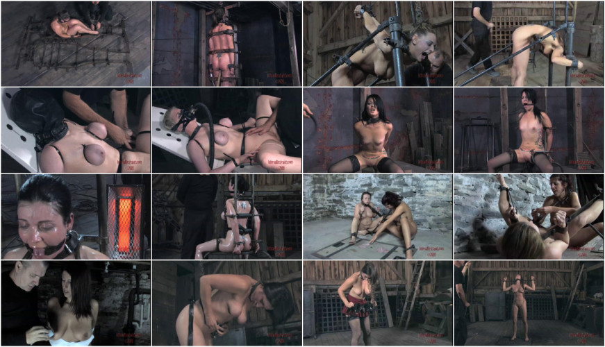 BDSM New Gold Sweet Beautifull Vip Gold Collection Infernal Restraints. Part 3.