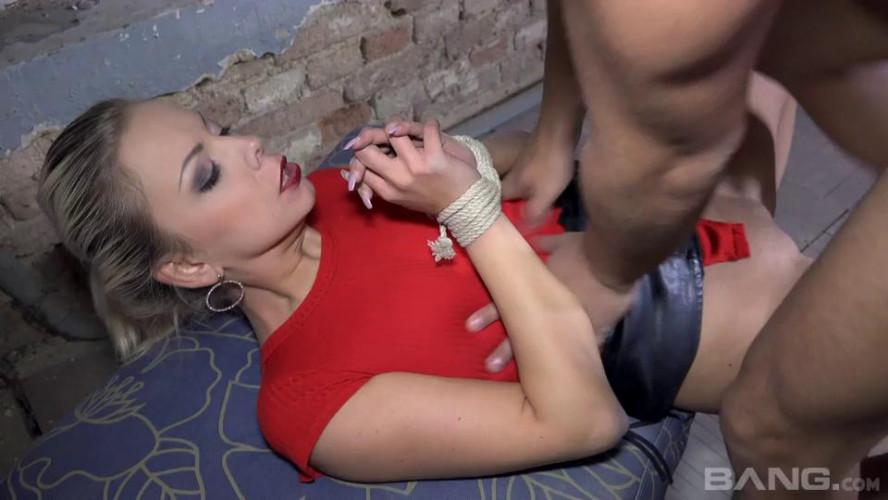 BDSM Brutally ball gagged scene. 2