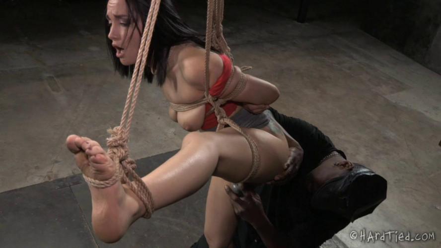 BDSM HardTied  Gabriella Paltrova and  Jack Hammer