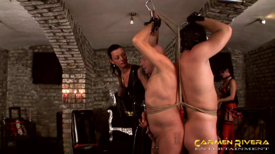 Femdom and Strapon Vip Hot Magic Gold Collection Of Carmen Rivera Entertainment. Part 3.