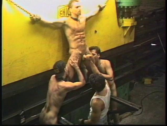 Gay BDSM Steel Dungeon - pt.1