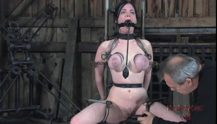 BDSM Sweet Beautifull Perfect Vip Gold Collection Of Infernal Restraints. Part 3.