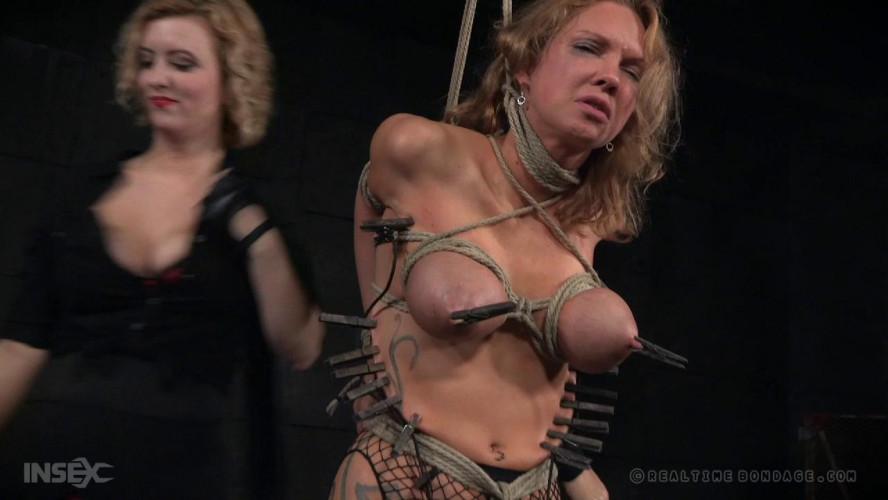 BDSM RealTimeBondage Rain DeGrey part 5 Shades of DeGrey