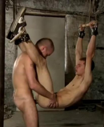 Gay BDSM Dominate Anal Assault