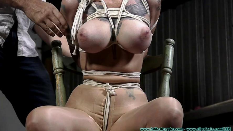 BDSM Crossed Wrist Chairtie for Luna (2020)