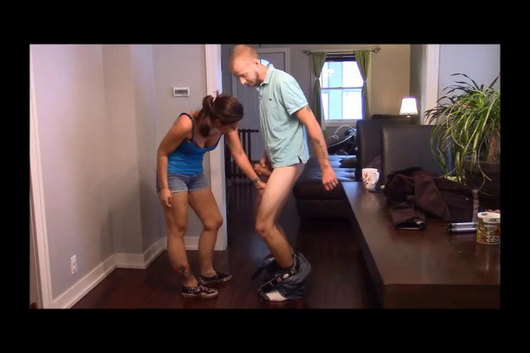 Femdom and Strapon Ballbusting Collection Part Eight