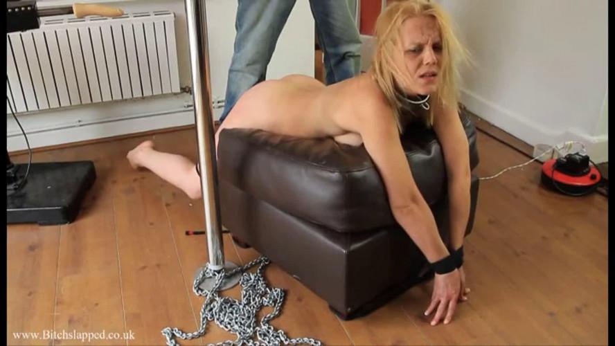 BDSM Hard bondage, domination and torture for hot blonde part 4 Full HD 1080p