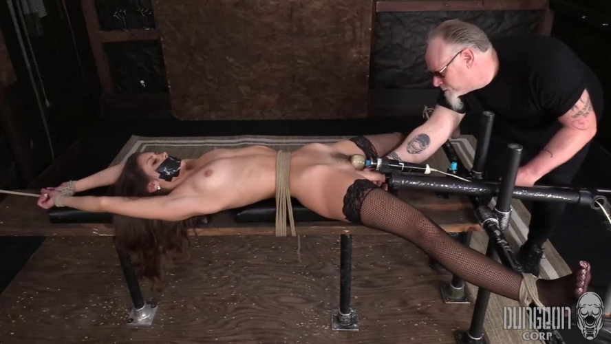 BDSM Super bondage, torture and domination for sexy young girl part 1 HD 1080