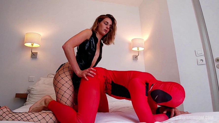 Femdom and Strapon June Fontaine - Dedpool Gets Fucked In The Ass