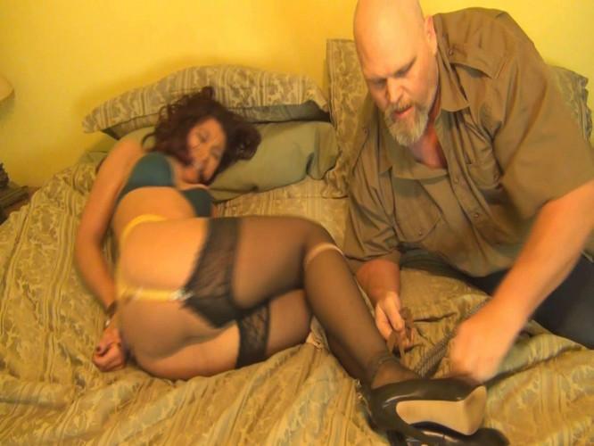 BDSM Sahrye: Stocking XXXX
