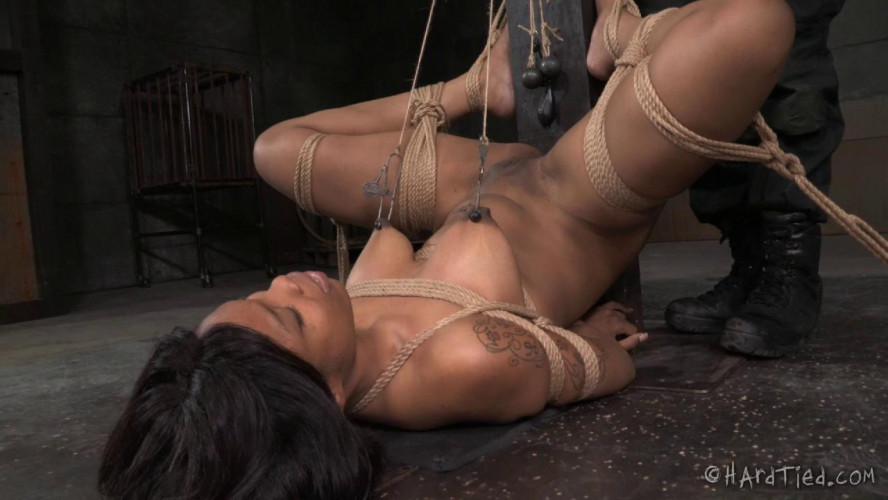 BDSM HardTied Sasha Banks Bubbly Banks